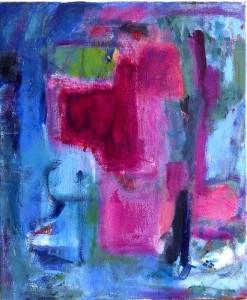 Cheval à bascule, 60X60, 2007