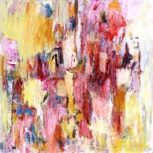Paysage rose, 70x70, 2010