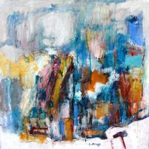 Paysage urbain, 60x60, 2013