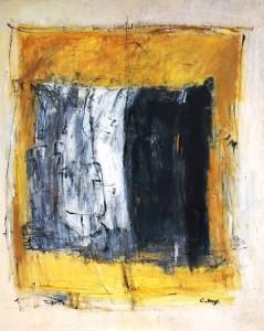 D'Or et noir, 100x100, 2014