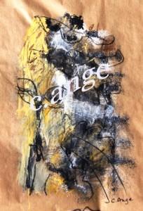 Qui de moi, 45x50, 2012